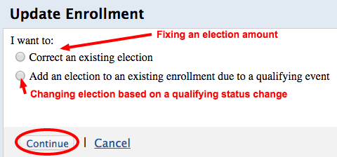 Updating an Election - Step2