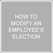 modify ee election