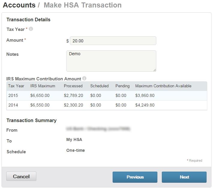 HSA transaction details 2