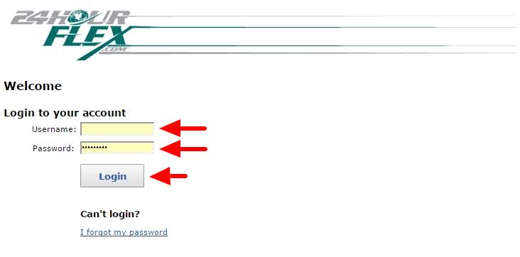 employer login screen 2