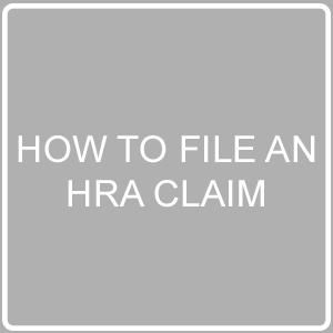 file an HRA claim post image