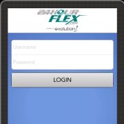 24HourFlex Mobile App Login