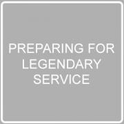 Preparing for legendary service post imag