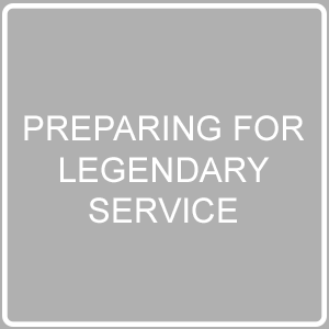 Preparing for legendary service post imag