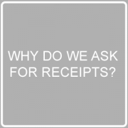 Why Do We Ask For Receipts Post Image