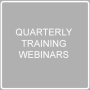 quarterly training webinars