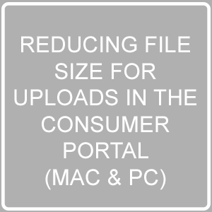 Reducing File Size For Consumer Portal Uploads 2MB Max File Size