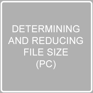 Reduce File Size PC Post Image