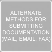 Alternate Methods for Submitting Documentation Post Image
