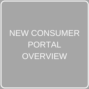 NEW CONSUMER PORTAL OVERVIEW